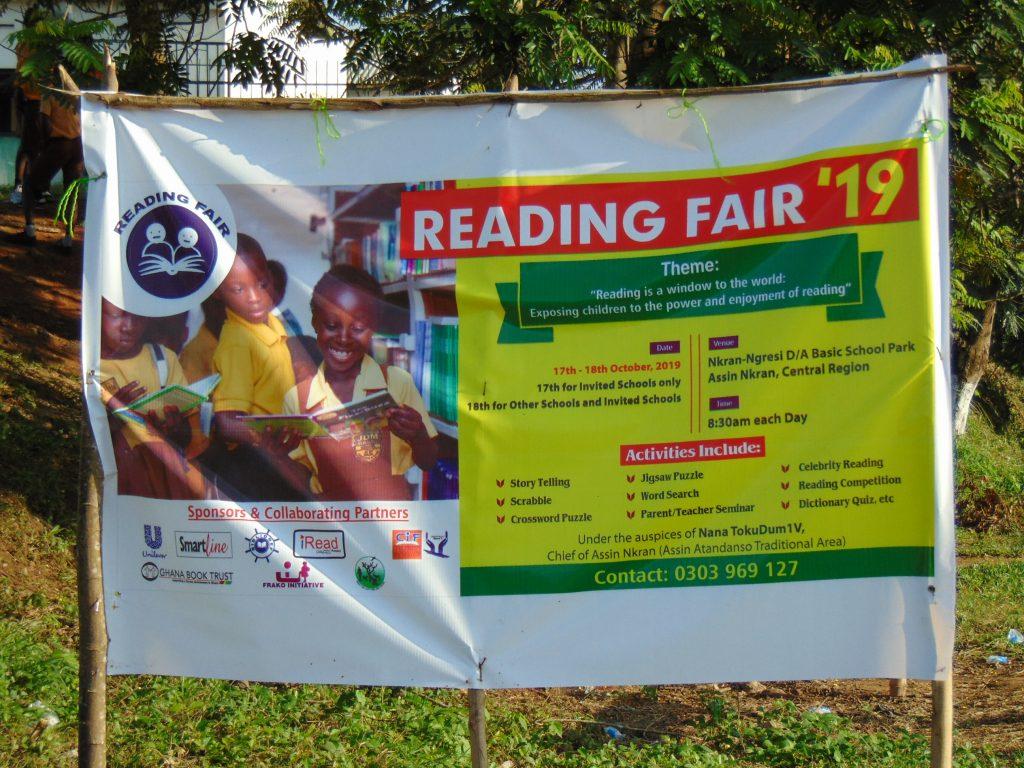 Reading Fair 2019 - Assin Nkran, Central Region